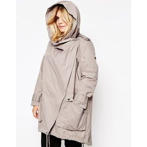 db7eeddf7792d ASOS Curve Jackets   Coats - ASOS Curve Parka with Waterfall and Storm Flap  18